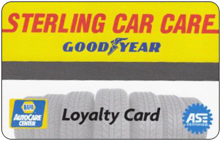 Sterling Car Care Loyalty Card
